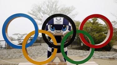 FOTO: Mengenal Lebih Dekat Miraitowa, Maskot Olimpiade Tokyo 2020