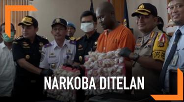 WNA asal Tanzania nekat menelan sabu dalam bungkusan kecil untuk diselundupkan ke Bali.