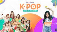 Simak selengkapnya Bintang K-Pop Hits of the Week seperti berikut ini. (Foto: picsart, deviantart, Desain: Nurman Abdul Hakim/Bintang.com)