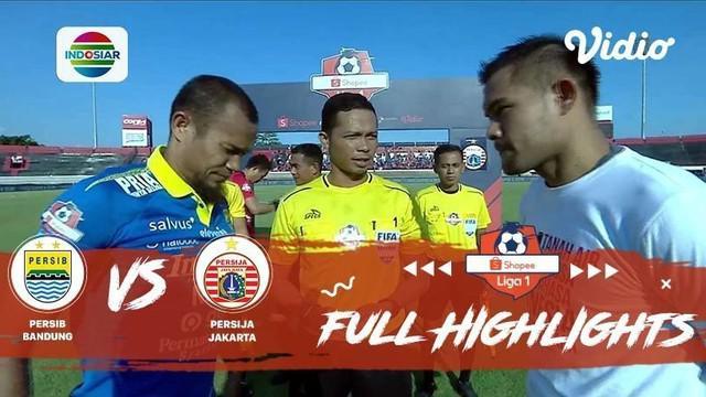 Berita Video Highlights Shopee Liga 1 2019, Persib Bandung Vs Persija 2-0