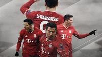 Penyerang Bayern Munchen: Robert Lewandowski. (Bola.com/Dody Iryawan)