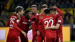 1. Bayern Munchen - Niko Kovac sejak awal sudah diramalkan tidak akan membawa Munchen lebih baik dari masa pelatih sebelumnya. Ramalan tersebut ampuh usai Munchen tampil tak istimewa di liga lokal. (AFP/Ina Fassbender)