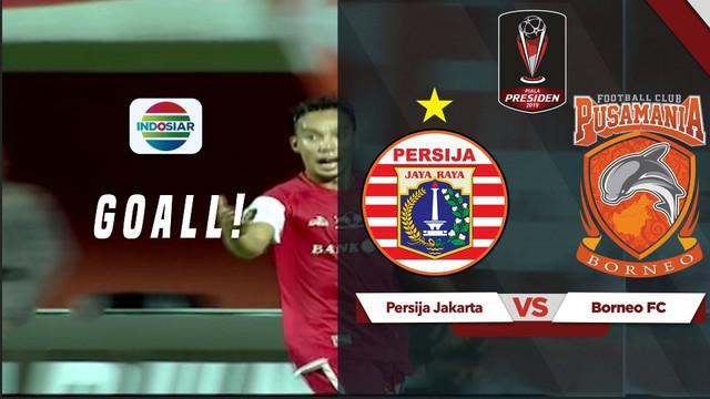 Berita video gol indah berkat kerja sama para pemain Persija Jakarta saat menang melawan Borneo FC dengan skor 5-0 di Piala Presiden 2019.