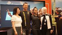 Super League Triathlon Bali 2020 akan dimeriahkan dengan kehadiran juara dunia, Chris McCormack dan atlet Indonesia pertama, Asihta Aulia Azzahra. (Bola.com/Zulfirdaus Harahap)