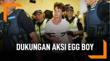 Ini Beragam Dukungan Terhadap Aksi Egg Boy