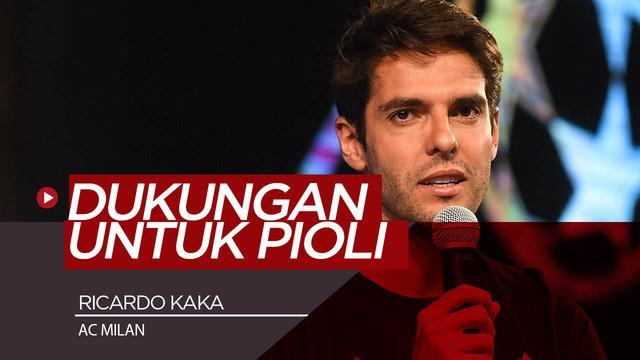 Berita Video Harapan Legenda AC Milan, Ricardo Kaka Untuk Stefano Pioli