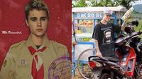 Editan foto Justin Bieber (Sumber: Instagram/indra.hakim)