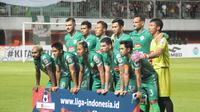 PSS Sleman sukses menahan 1-1 Persipura Jayapura di Stadion Mandala, Jayapura, Jumat (31/5/2019). (Bola.com/Vincentius Atmaja)