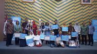 Para pemenang Duta SIGAP. (Liputan6.com/Tri Ayu Lutfiani)