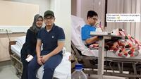 Cedera Di Bagian Lutut, Ini 6 Potret Tommy Kurniawan Usai Operasi. (Sumber: Instagram/tommykurniawann dan Instagram/lisyanurrahmii)