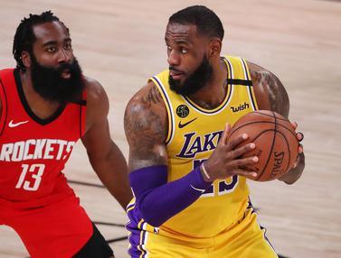 Kalahkan Houston Rockets, LA Lakers Selangkah Lagi Menuju Final Wilayah Barat