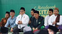 Ketua Umum PKB Muhaimin Iskandar atau Cak Imin. (Liputan6.com/Muhammad Ali)