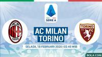 Serie A - AC Milan Vs Torino (Bola.com/Adreanus Titus)