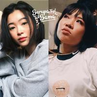Berwajah oriental, kedua perempuan yang mulai berkecimpung di dunia tarik suara ini tampak semakin cute. (Sumber foto: cindercella, ramengvrl/instagram)