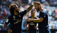 Striker Real Madrid Karim Benzema (MIGUEL RIOPA / AFP)