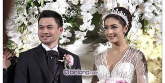 Nabila Syakieb dan Reshwara Argya Radinal  menggelar resepsi pada Minggu, 20 Desember 2015 di Ritz Carlton, Mega Kuningan Jakarta. Resepsi dengan konsep internasional itu, akan dihadiri oleh 1000 lebih tamu spesial Nabila Syakieb