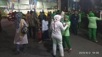 Suasana RSU Bunda Margonda, Depok, usai gempa Banten, Jumat malam (2/8/2019) (Ist)