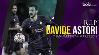 Davide Astori, pemain Fiorentina. (Bola.com/Dody Iryawan)