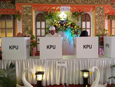 TPS Berkonsep Pesta Pernikahan di Semarang