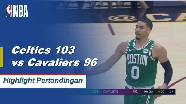 Jayson Tatum mencetak 25 poin saat Celtics menang beruntun kelima.