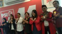 Kantor PSI kedatangan aktivis Masyarakat Anti Fitnah Indonesia (Mafindo), salah satunya putri Gus Dur, Anita Wahid. (Merdeka.com/ Ahda Baihaqi)