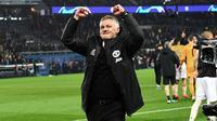 Manajer Manchester United, Ole Gunnar Solskjaer. (AFP/Anne-Christine Poujoulat)