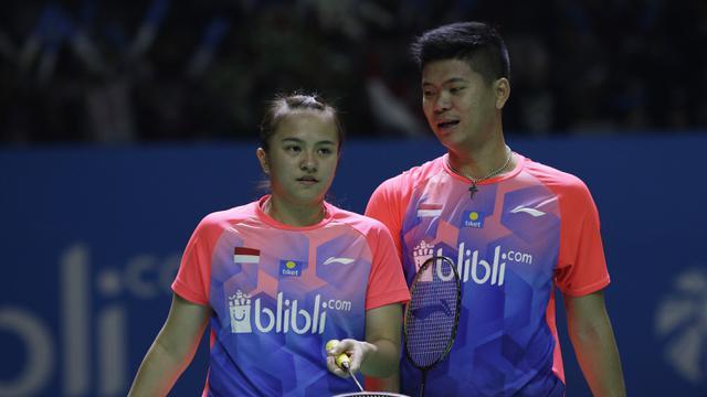 Indoensia Open 2019 : Praveen Jordan/Melati Daeva Oktavianti