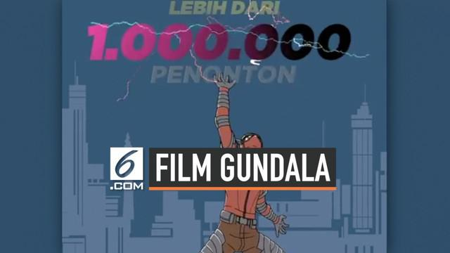 Film superhero Gundala sudah tayang di bioskop tanah air. Di hari ke-7 penayangannya film besutan Joko Anwar ini sudah dinikmati lebih dari satu juta penonton.