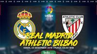 La Liga - Real Madrid Vs Athletic Bilbao (Bola.com/Adreanus Titus)