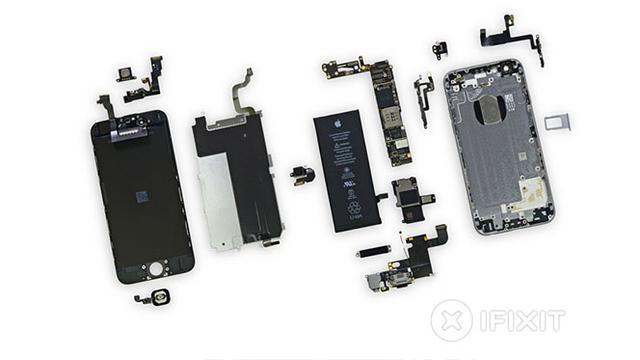 Mengoprek Bagian Dalam Iphone 6 Tekno Liputan6 Com