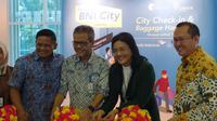 PT. Railink menawarkan layanan baru yaitu City Check-In dan Baggage Handling, di Stasiun BNI City, di Jakarta, Jumat (31/1/2020).
