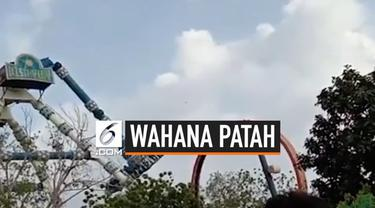 Wahana permainan patah di Balvatika Amusement Park, India. Akibatnya 2 pengunjung tewas dan 29 lainnya terluka dalam insiden ini.