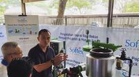 Mesin hidrotermal dan pirolisis untuk solusi untuk mengurangi limbah popok dan pembalut sekali pakai. (dok. Instagram @golimbah/https://www.instagram.com/p/B7YZpX1gqfg//Adhita Diansyavira)
