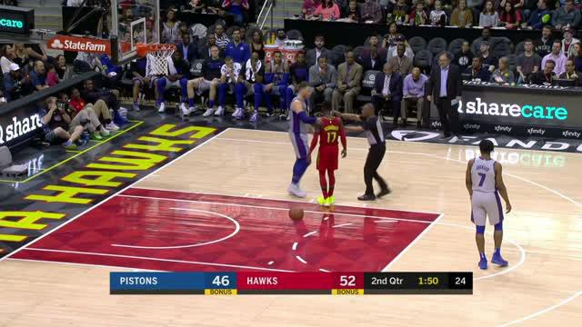 Berita video game recap NBA 2017-2018 antara Atalanta Hawks melawan Detroit Pistons dengan skor 118-115.
