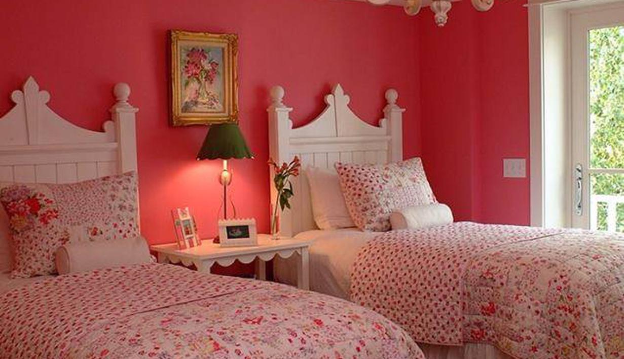 Inspirasi Kamar Tidur Nuansa Pink Untuk Buah Hati Cewek ...