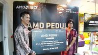 Konferensi pers AMD Peduli. (Foto: AMD)