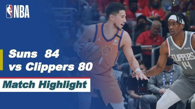 Berita Video, Final Wilayah Barat NBA Playoffs 2021 Phoenix Suns Vs LA Clippers (84-80) pada Minggu (27/6/2021)