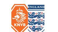 Belanda Vs Inggris (Bola.com/Ario Yosia)