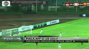 Seperti apa perjalanan Timnas Indonesia hingga tembus ke babak semifinal Piala AFF U-18?