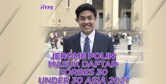 Jerome Polin yang masuk Forbes 30 Under 30 Asia 2021! Yuk, kita cek video di atas!