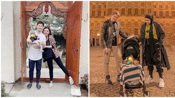 Potret 6 Pasangan Artis Ajak Anak Liburan Pertama Kali, Jadi Momen Bahagia