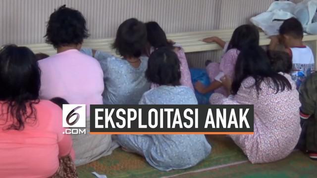 Polsek Medan Helvetia mengamankan 20 anak dan orang tuanya yang diduga mengeksploitasi anak menjadi pengemis dan pengamen di persimpangan jalan di Kota Medan.