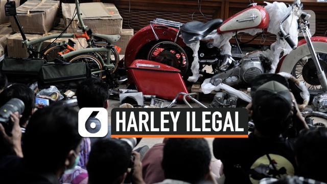 HARLEY ILEGAL