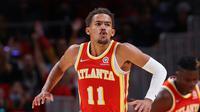 Trae Young memimpin Hawks kalahkan Mavericks di laga perdana NBA 2021/2022 (AFP)