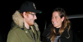 Ed Sheeran mengumumkan pertunangannya dengan Cherry Seaborn pada 20 Januari waktu setempat. (Kidspot)