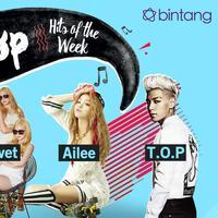 Bintang K-Pop Hits of the Week: Zion.T, T.O.P, Ailee, Red Velvet (Desain: Nurman Abdul Hakim/Bintang.com)