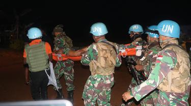 Serma Rama Wahyudi meninggal akibat usai diserang kelompok bersenjata saat menjalankan misi perdamaian di Kongo. (dok TNI)