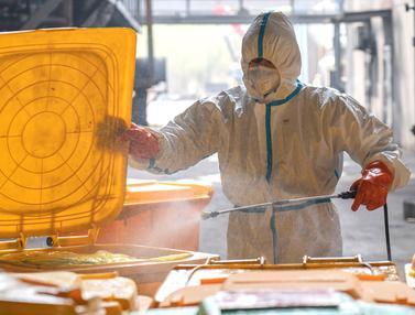 Limbah Medis Virus Corona Penuhi Kota Wuhan