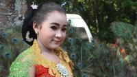 Potret Dimas Niken Salindy Sinden Cilik Asal Kediri. (Sumber: Instagram/dimasniken)