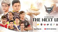 MPL Season 7 akan menjadi pertarungan seru para jagoan Mobile Legends di Indonesia.  (FOTO / IG MPL ID)